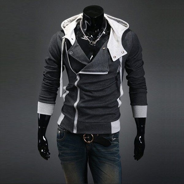 Walson Wholesale Men Hoodie Manufacturers Jacket Man Plain Fleece Assassins Creed Sweatshirt Zip Up XXXXL Hoodies