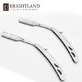 Personalized Stainless Steel Disposable Straight Shaving Razor