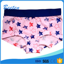 Hot Sale Children Young Girl Cotton Panty Knitted Fabric Girl Underwear