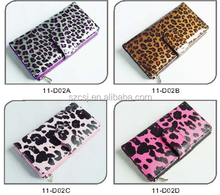 2018 fashionable good quality funky leather ladies wallet