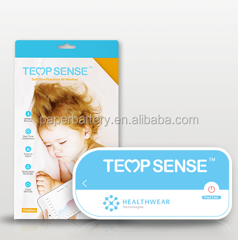 Tempsense thermometre,chidren body temperature monitor, best assistant of parents