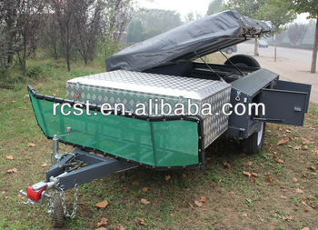 Powder coated camper trailer RC-CPT-08XP