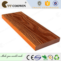 2016 new types 134x24mm outdoor wpc thermowood decking