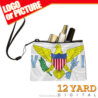 Promoting custom design soccer sport & outdoor & travel small make-up bag