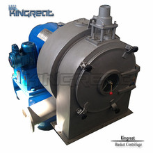 Continuous Operation Worm Centrifuge for Manganese Sulphate