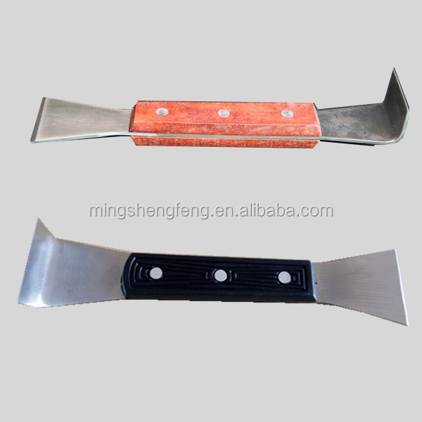 Beekeeping Supplies Stainless steel bee hive tool Galvanized hive tool