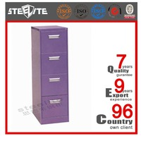 China vendor powder coated document cabinet 4 drawer storage office steel filing cabinet