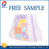 Economical custom design 3D leak guard smart prices of baby panty diaper with competitive price