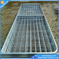 High quality heavy duty gate in frame / pipe corral fence panels