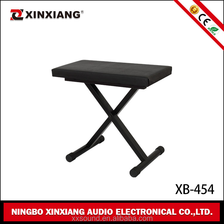 hot! on stage adjustable keyboard single seat bench