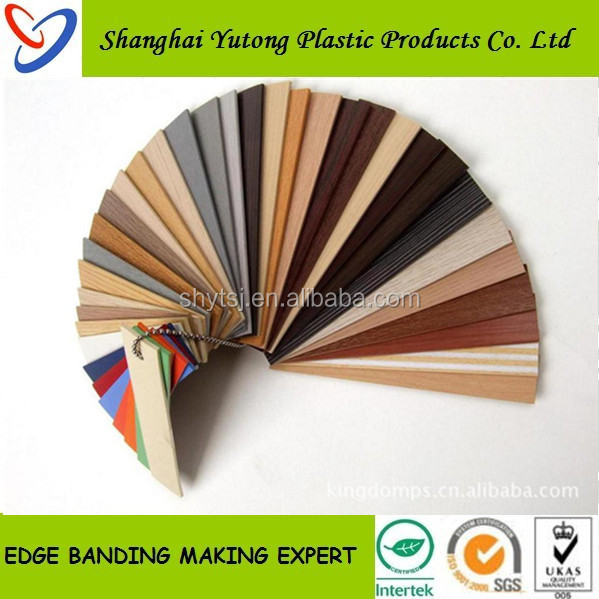 high-quality furniture decorative wood finished rubber countertop edging strip