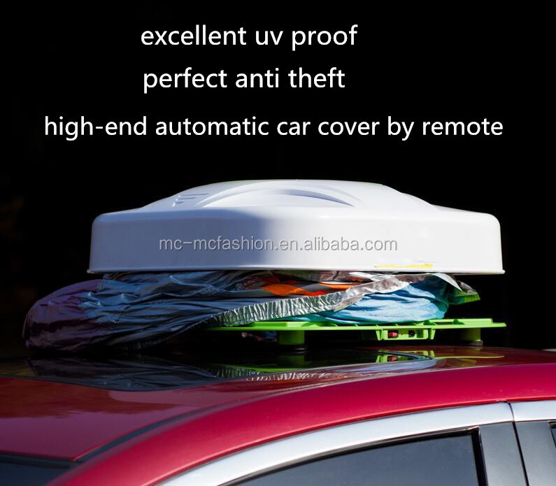Weather Shield fully tailored outdoor car cover automatic