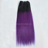 ombre hair extension sew in human hair weave ombre hair bundles