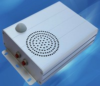 Aluminum Enclosure Based Motion Sensor Speaker, Motion Sensor MP3 Player