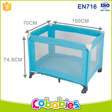 Lightweight safety 0-3years travel cot baby playpen infant play yard
