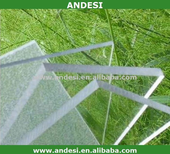 clear polycarbonate roof covering plastic panel for shed