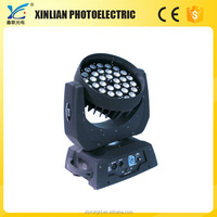 36pcs * 10W RGBW 4 IN 1 IP20 high quality factory direct sell beam led moving head light