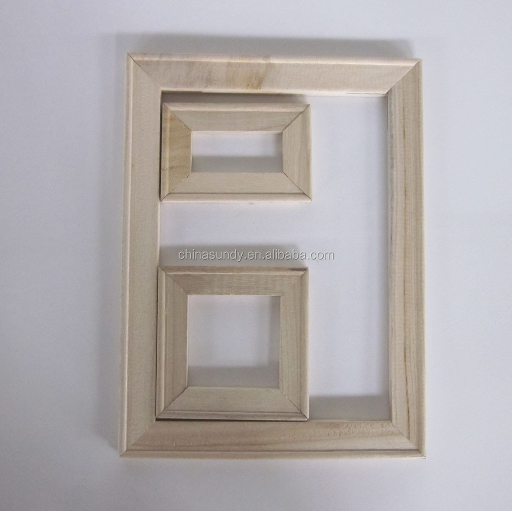 Good quality wooden picture photo frame moulding/digital picture frame 16*20""