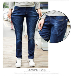 Top brand design men 98% cotton 2% spandex custom denim jeans dealer