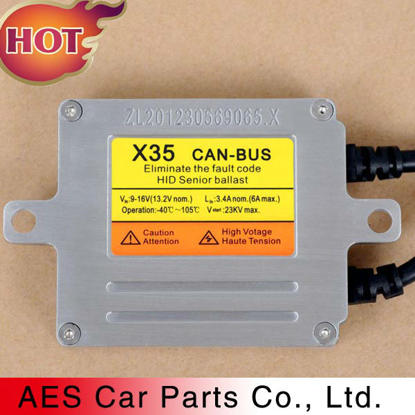 Auto Headlight Canbus ballast X35 HID xenon ballast Fast Start with Canbus