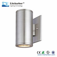 up down stainless steel wall light led ul waterproof