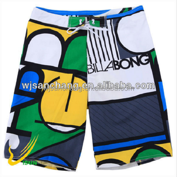 100% Polyester new Micro Printed Fabric for making beach pants