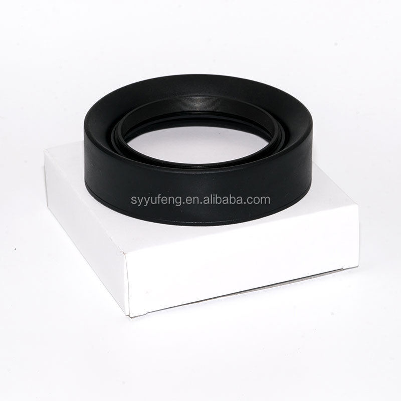 Digital Camera 49-82mm Three function 3 in1 Collapsible rubber lens hood