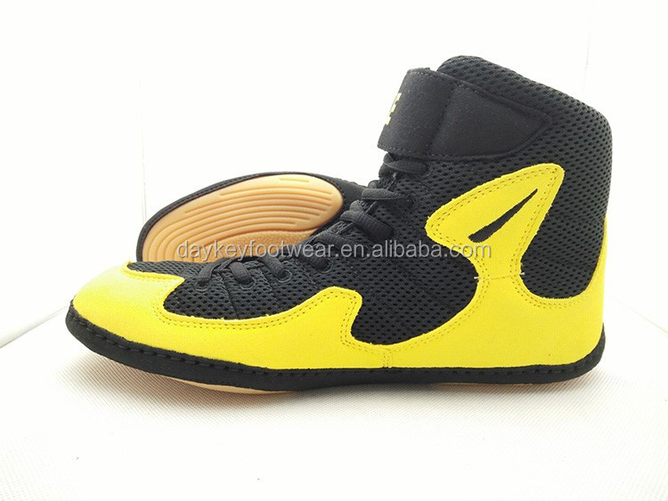 china factory price OEM make your own wrestling sport shoes, men wrestling shoes