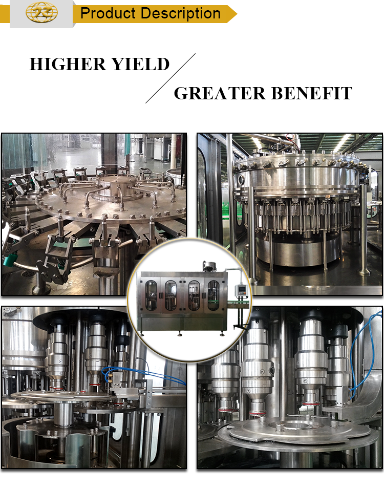 High efficiency High quality water cup aseptic juice filling machine