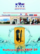Clearance Products Airports Auto-dial waterproof phone KNSP-09