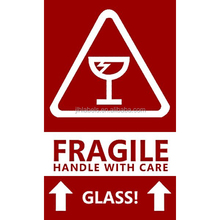 Fragile Handle with Care Glass Shipping Labels Stickers 3 x 5 inch