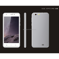 5.0inch 3G network IPS MTK6580 Quad Core low cost touch screen mobile phone