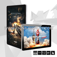 21.5 Inch Digital Display Gas Stations LCD Digital Signage Device Advertising With USB Function