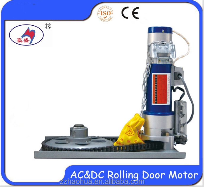 AC&DC battery operated garage doors opener/roller shutter door motor/electric motors for roller shutter doors