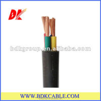 BS6500 H05VV-F 4 core 6mm flexible cable