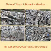 Yingshi Garden Decoration Natural Stones Small Fake Mountain