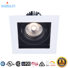 High quality CRI>92 IP54 waterproof 5 years warranty UL CUL square cob dimmable 7W led downlight