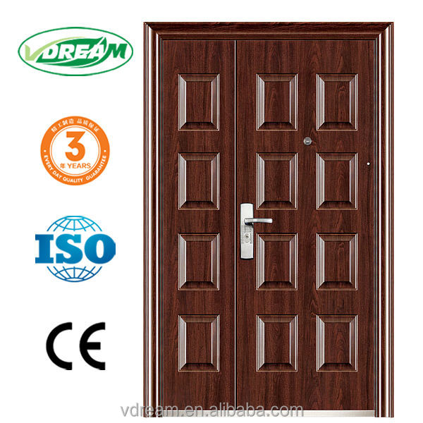 china steel door low price, steel door frame making machines, steel mother and son door