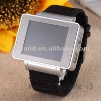 Specifications 2012 New Watch Mobile Phone i3 with voice Broadcasting Webcam