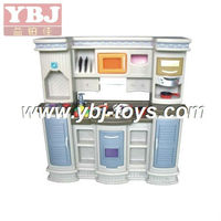 2013 hot sell kids cooking play games, plastic cubby house