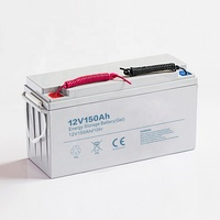 12v 90ah 100ah 200ah 250ah lipo gel 12v series solar battery factory price