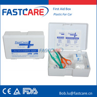 CE Plastic car accident first aid kit