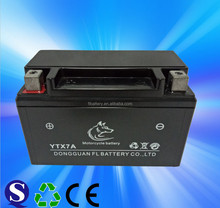 YTX7A Dry Charge Lead Acid Motorcycle Battery 12V 7Ah