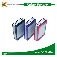 Solar charger paper , rohs solar charger instructions 6000mah colorful