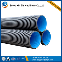 2 corrugated drainage pipe