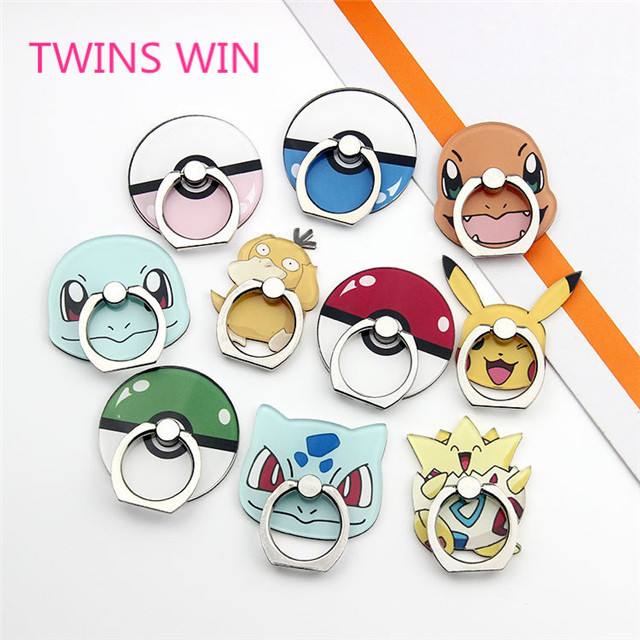 2019 wholesale custom New Mini phone decoration accessories Creative Lovely Design Girl cartoon phone ring stent stand <strong>050</strong>