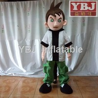 2015 Hot sale movie character ben 10 cartoon mascot costume
