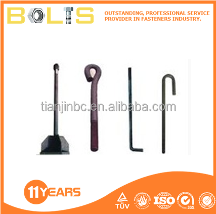 Hot dip galvanized chemical I anchor bolts m12 m14 m16