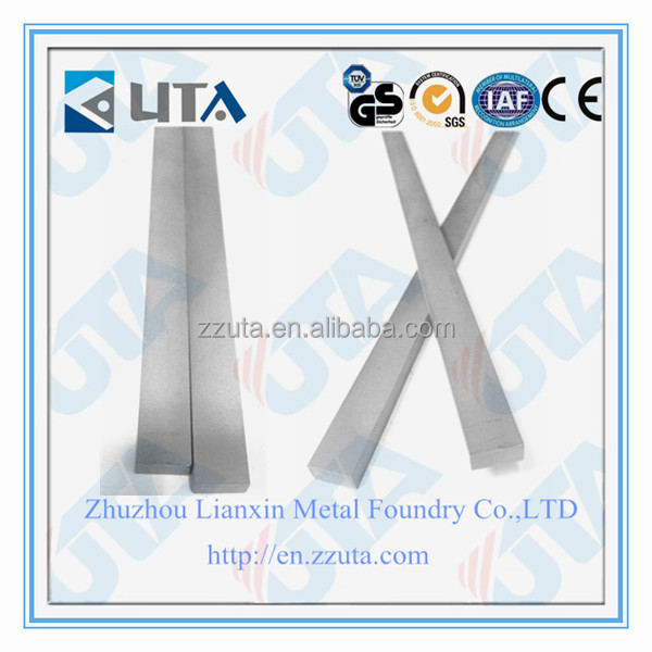 zhuzhou tungsten <strong>carbide</strong> flat <strong>bar</strong>/strip