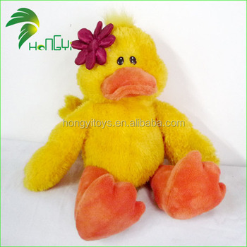 Best Quality Reasonable Price OEM China Plush Yellow Duck Toy